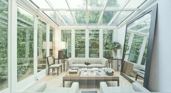 foto de ambiente com vidros acusticos
